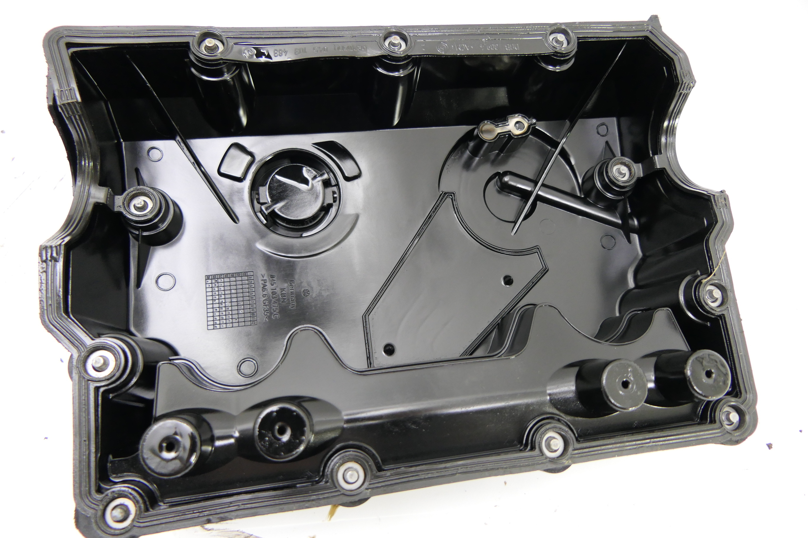 VW Polo 9N3 9N Zylinderkopf Deckel 1,4 TDI 3 Zylinder 045103475C ...
