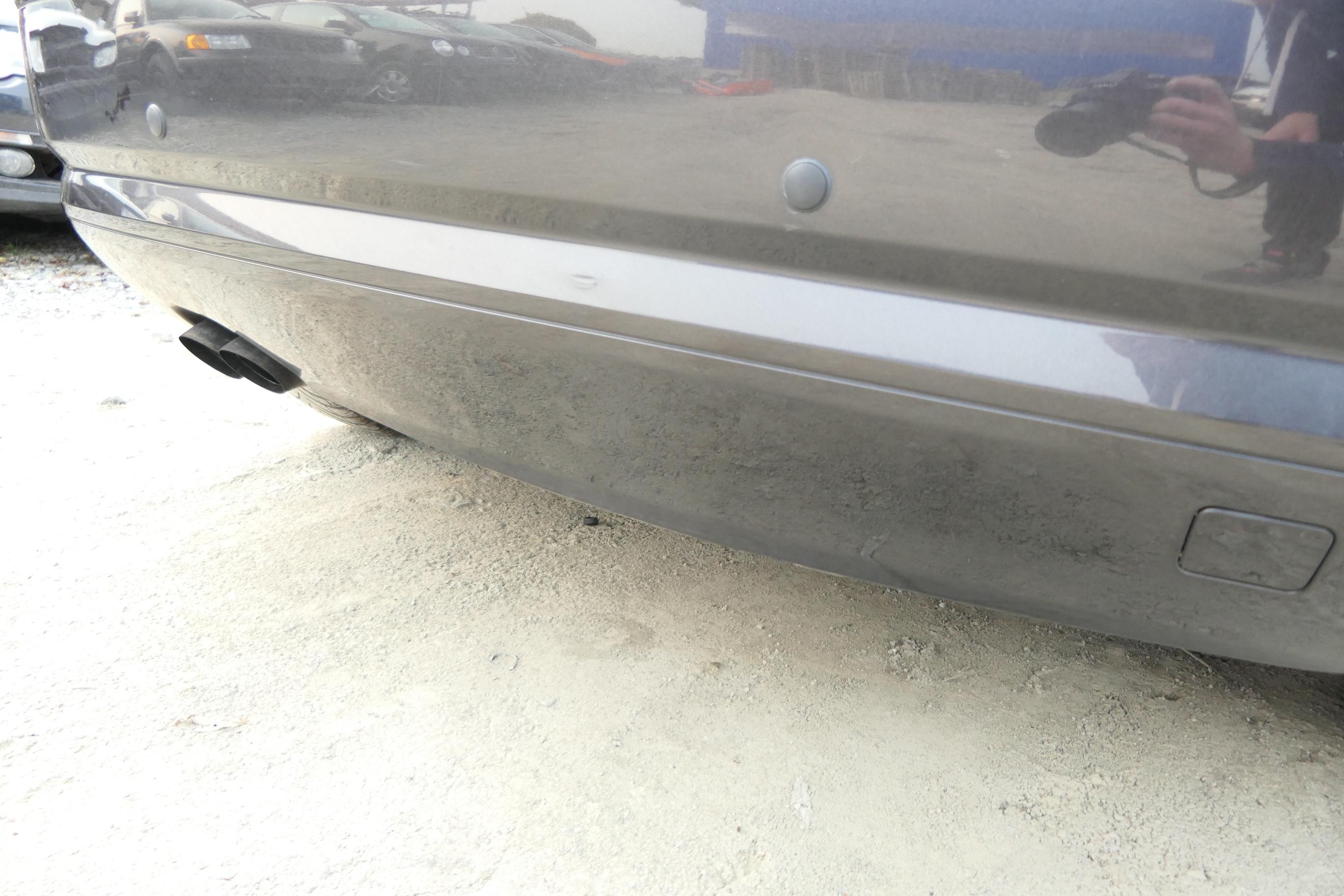 ORIGINAL Audi Spoiler für Stoßfänger hinten A3 8P3807434 GRU